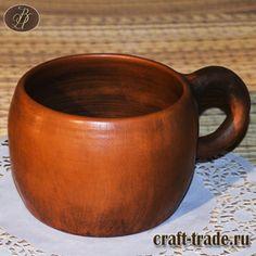 Кандюшка - керамическая кружка традиционной древнерусской формы в интернет-магазине Рукоделец