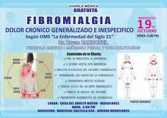INTERESANTE CHARLA SOBRE LA FIBROMIALGIA | Central Informativa del Adulto Mayor