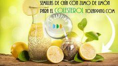 Semillas de chía con zumo de limón para el colesterol.Cuando tenemos el colesterol alto es muy bueno ayudar a regularlo con remedios naturales, nosotros
