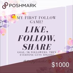 🌸LIKE, FOLLOW, SHARE!🌸 Spread the love, and I will too! Ultimate goal is 10K followers. Also check out my items for saleoncludong Lilly Pulitzer, Kate spade and more, and feel free to make offers, I might just accept! Email me at kraftykatietheOT@gmail for any specific questions, or comment in the posts. I also have my items on merc and eB@y. Happy poshing! 💋🌸 Lilly Pulitzer Other