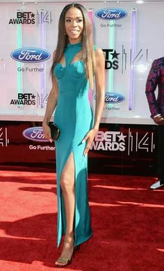 Michelle Williams at the 2014 BET Awards.....so pretty