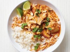 Get Slow-Cooker Chicken Curry Recipe from Food Network