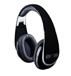 808 Over-The-Ear Stereo Headphones - Gloss Black (HPA88BKG)