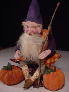 """6"""" elf, out of season.  Sweet though.  nd"""