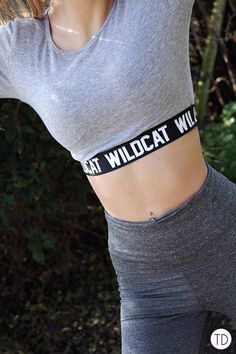 Wildcat clothing: From the gym to a night out - Trigger Dream Night Out, Style Fashion, Fashion Inspiration, Crop Tops, Workout, Casual, How To Wear, Shirts, Clothes