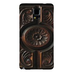 Wooden Carving Galaxy Note 4 Case