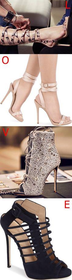 L, O, V, E? 4 shoes from the Giuseppe Zanotti for Jennifer Lopez Capsule Collection