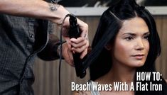In this video you'll learn how to quickly and easily create loose beach waves in your hair. Andrew shares sectioning tips along with how to hold your flat iron for professional results.