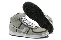 timeless design bf588 89cb1 NIKE VANDAL CANVAS HI WHITE/ARMY GREEN SALE $72.63 Unisex, Nike Outlet,  Shoes