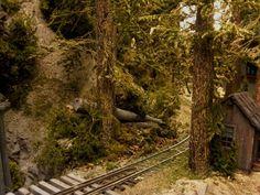 Heading toward canyon section with a lot to add there Ho Trains, Model Trains, Black Sabbath Album Covers, Ho Train Layouts, Model Railway Track Plans, Rail Car, Elm Street, Train Set, Railroad Tracks