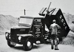 1958 Trojan Tipper | by colinfpickett Dump Trucks, Big Trucks, Vintage Trucks, Vintage Auto, Old Lorries, Old Commercials, Classic Motors, Commercial Vehicle, Classic Trucks