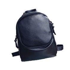 $8.06 (Buy here: https://alitems.com/g/1e8d114494ebda23ff8b16525dc3e8/?i=5&ulp=https%3A%2F%2Fwww.aliexpress.com%2Fitem%2FBoys-and-Girls-Backpack-Black-Leather-Zipper-Double-Shoulder-Bag-High-Quality-Student-Bag-Mochila-Colegio%2F32761970808.html ) Boys and Girls Backpack Black Leather Zipper Double Shoulder Bag High Quality Student Bag Mochila Colegio #7102 for just $8.06