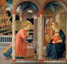 Fra Angelico - Verkündigung an Maria