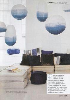 dinnerparty mit wei en regolit h ngeleuchtenschirmen ber. Black Bedroom Furniture Sets. Home Design Ideas