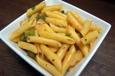 Simple Vegetarian Recipes: Penne Aglio, Olio e Peperoncino