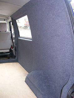 VW T4 Ply Lined and trimmed in Veltrim Easy Liner | VW T4 Pl… | Flickr