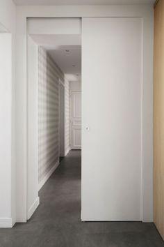 Appartement Paris 17 : rénovation d'un 90 m2 avant/après - Côté Maison