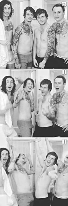 Asking Alexandria They are so evil :0 Mmm ...ben, are you...?