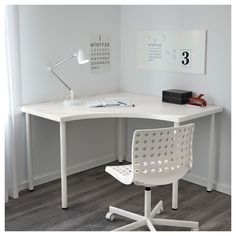 Online Ikea DESK in Auckland NZ. Lowest prices and largest range of IKEA Furniture in New Zealand. Shop for Living room furniture, outdoor furniture, bed room furniture and alot more ! Ikea Corner Desk, Ikea Desk, Corner Table, Diy Desk, Ikea Linnmon Desk, White Corner Desk, Small Corner Desk, Craft Corner, Study Room Decor