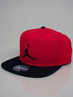 NIKE JORDAN 513405 657 JORDAN TRUE JUMPMAN SNAPBACK Cappello Snapback -  university red - black -