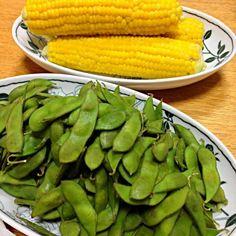 ウマーー - 5件のもぐもぐ - 枝豆とトウキビ by yuzuanzu