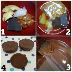 chocolate PB fat bombs