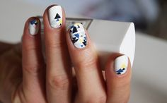 Concours nail art - Graphic nails for Natachaton