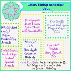 Clean Eating Meal Ideas - Clean Eating Made SIMPLE!