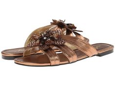 8c63f64c120e5d ANNIE Sabrina Jewel Sandals Bronze  49 AVAILABLE FROM BEACH HIPPIE    PURCHASES INCLUDE NORTON SHOPPER PROTECTION