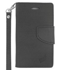 Insten Leather Case Cover Lanyard with Stand/ Wallet Flap Pouch/ Photo Display For Microsoft Lumia 435 #2344878