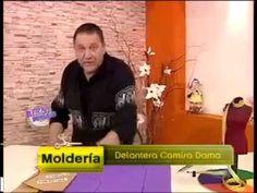 Hermenegildo Zampar - Bienvenidas TV - Explica como hacer la Delantera de una Camisa de Dama. - YouTube