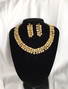 Engagement & Wedding Frugal Red Kundan Pearls Wedding Party Fashion Jewellery Indian Booywood Bridal Set