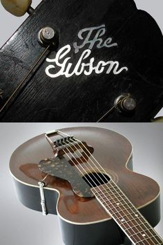 The Gibson ~ Vintage L-1 Archtop Guitar
