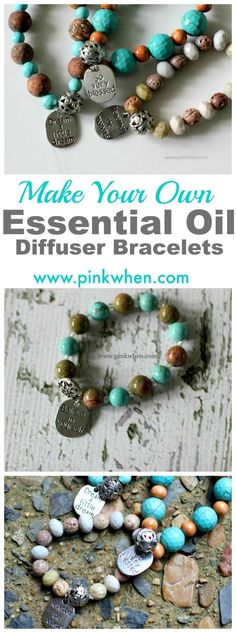 Love these cute charm bracelets! Easy to make, and perfect to just wear for fun, or to use as a diffuser for your essential oils.