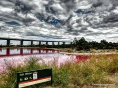 Pink Salt Water Lake --- Melbourne- Westgate Park, Melbourne Traveller Reviews - TripAdvisor