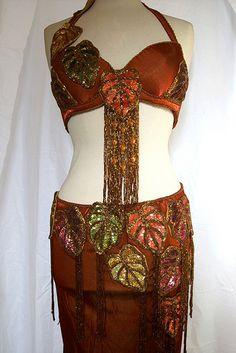 Foglie d'Autunno_Bellydance Costume - handmade by denisealice