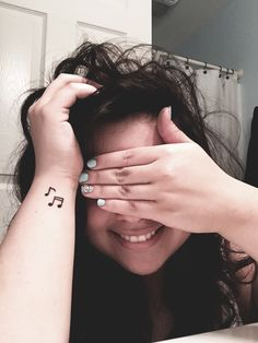 small music symbol tattoo #ink #YouQueen #girly #tattoos