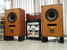 Vintage Audio Altec 604-8G speakers