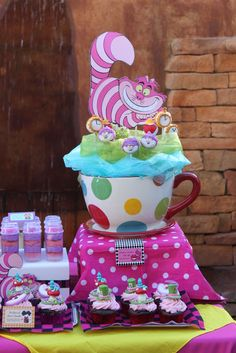 Alice In Wonderland Mad Tea Party Baby Shower Party Ideas | Photo 11 of 27 | Catch My Party