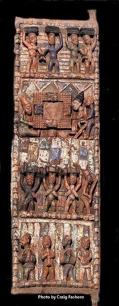 Yoruba Ilekun (Palace Door), Nigeria