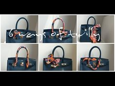 How to wear an Hermes Twilly - YouTube