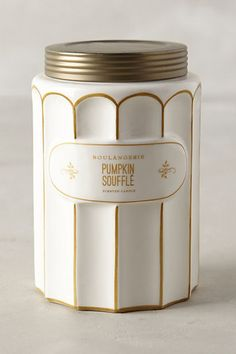 Pumpkin Souffle Candle- smells amazing
