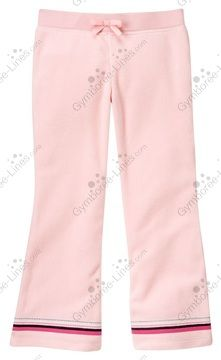 NWT Gymboree Glamour Ballerina Stripe Hem Microfleece Pant - Size 10 - 1 available - $15 shipped