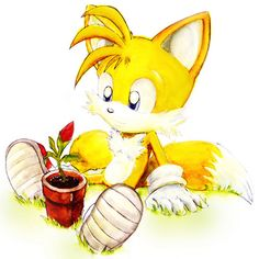 Tails - Sonic the Hedgehog fan art