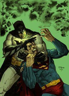 Batman vs. Superman de German Peralta