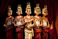 Several restaurants and hotels in Siem Reap present Apsara Dance Shows, and Apsara Dance Dinner Shows are included in many tours. Most shows include the four genre of traditional Khmer dance: Apsara Dance, Masked Dance, Shadow Theatre, and Folk Dance. These are abbreviated dances for tourists,