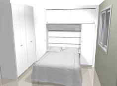Projeto para quarto pequeno