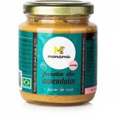 Pasta de Amendoim com Açúcar de Coco Monama.