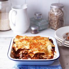 Quorn lasagne isn't just for vegetarians, it's makes a brilliant replacement for beef mince. The Good Housekeeping Cookery Team tests every recipe three times before publishing, so you know it will work for you! Philapino Recipes, Quorn Recipes, Lasagne Recipes, Mince Recipes, Veggie Recipes, Vegetarian Recipes, Cooking Recipes, Veggie Meals, Veggie Food