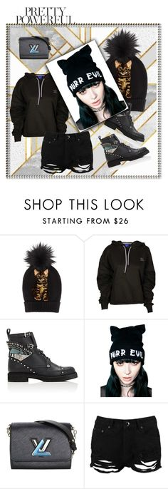 """""""beanie on point"""" by san-yay ❤ liked on Polyvore featuring Dolce&Gabbana, adidas, Fendi, Killstar, Louis Vuitton, Boohoo and beanies"""